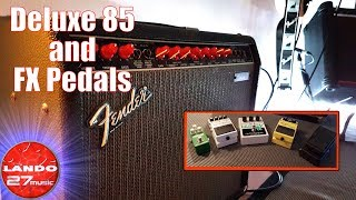 Does it Pedal? the Fender Deluxe 85 Take and FX Pedals