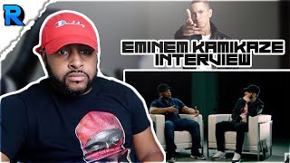 EMINEM KAMIKAZE INTERVIEW | EVERYTHING MAKES SENSE NOW | WATCH WITH ME