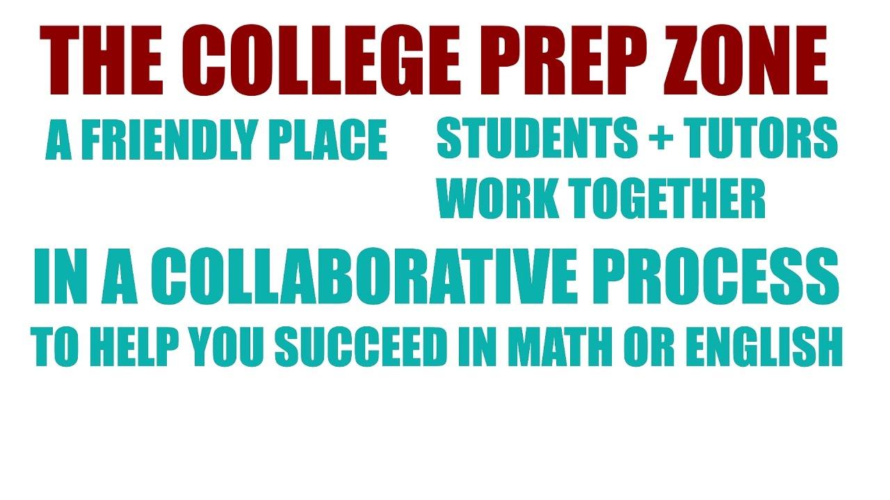 Red Rocks Community College, College Prep Zone - YouTube