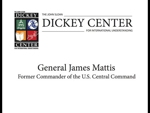 "General James Mattis, ""In the Midst of the Storm: A US Commander's View of the Changing Middle East"""