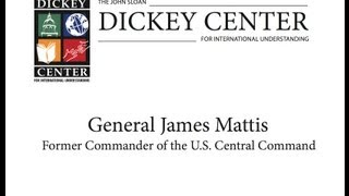 """General James Mattis, """"In the Midst of the Storm: A US Commander's View of the Changing Middle East"""""""