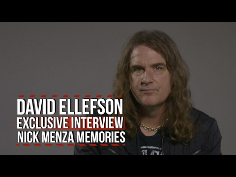 Megadeth's David Ellefson Shares His Favorite Nick Menza Memories