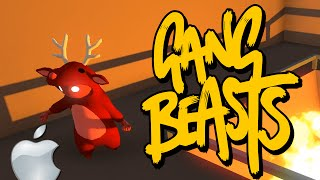 Gang Beasts - ФАНАТЫ APPLE ПРОТИВ ANDROID