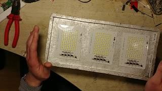 Отливка уличного прожектора на 150Вт.