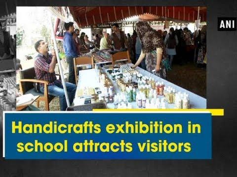 Handicrafts Exhibition In School Attracts Visitors Jammu And