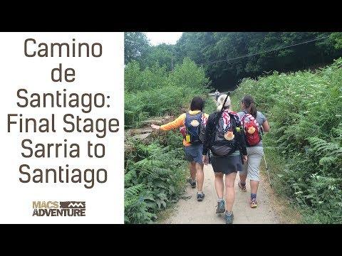 Camino de Santiago - Final Stage Sarria to Santiago