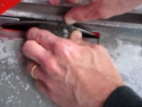 Cutting Rocks With A Tile Saw Youtube