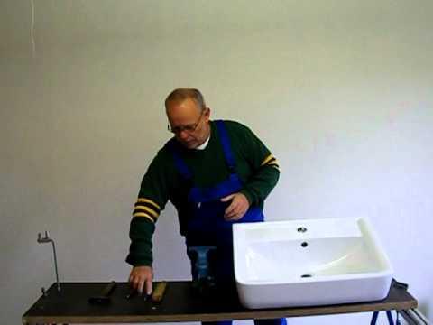 sinkfix 9tlg waschtisch montage satz doovi. Black Bedroom Furniture Sets. Home Design Ideas