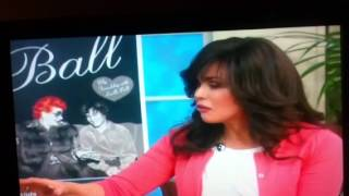 Lucille Ball fan Michael Stern on Marie Osmond Talk show