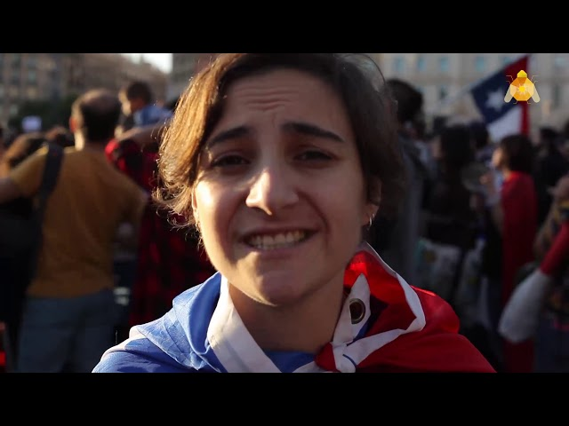 Segona protesta a Barcelona per la repressió de Piñera a Chile