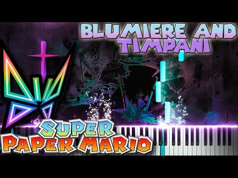 "Super Paper Mario - ""Promise"" - Memory 3 (Original Soundtrack) - Piano tutorial"