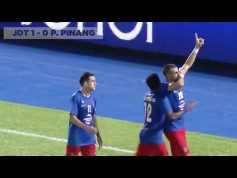 Highlight Perlawanan Liga Super 2017 - JDT [2 - 0] P.PINANG