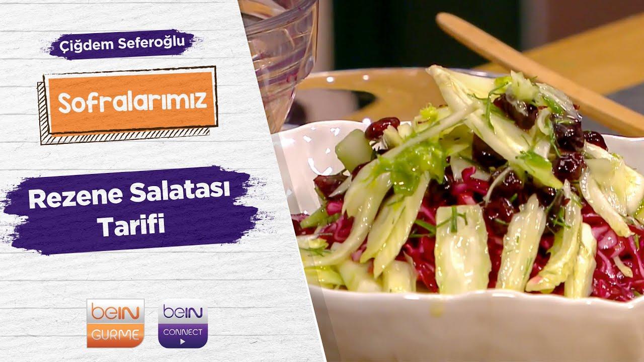 🥗Rezene Salatası | Çiğdem Seferoğlu | Sofralarımız