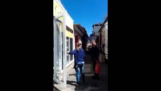 Пожар в районе Малиновского рынка. Частный сектор. 17.05.17