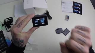 GoPro Hero 5 black - Unboxing & Setup | german/ deutsch