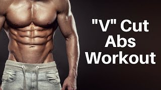 V Cut Abs Workout (NO EQUIPMENT NEEDED!)