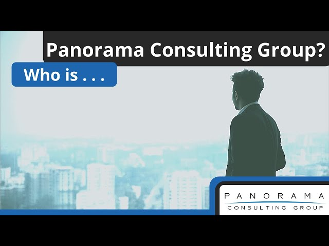Panorama Consulting Group - Business Transformation & Independent ERP Consultants