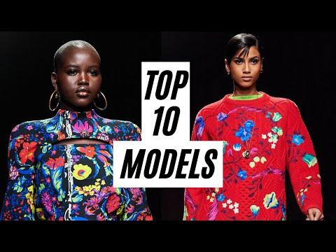 Top 10 Models: Best Runway Walks 2018-2020