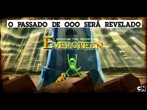 Evergreen Hora De Aventura Los Origenes De La Corona Del Rey Helado
