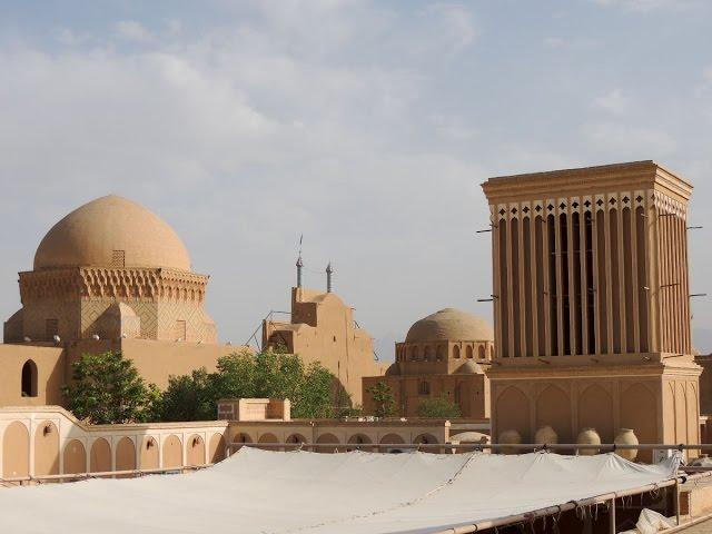 Yazd, la ciudad de las Torres del viento y Zaratustra en Irán