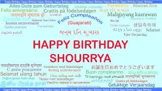 Shourrya   Languages Idiomas - Happy Birthday