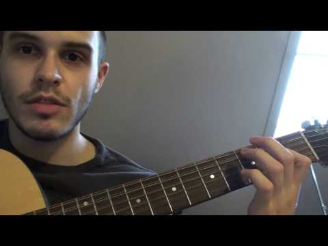 how to play angel's son on guitar - tutorial / instructional