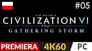 Civilization 6: Gathering Storm PL ⚡️ odc.5 (#5 DLC)  Pokój i spokój
