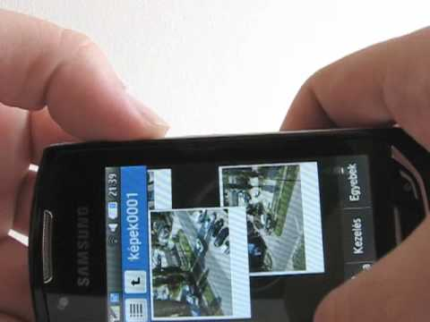 Samsung S5620 Monte (HUN)
