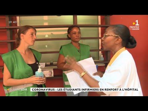 Coronavirus: les étudiants infirmiers en renfort à l'hôpital
