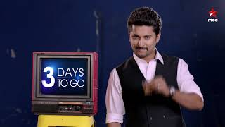 3 days to go biggbosstelugu2 with nani starting from june 10th yedainajaragachu