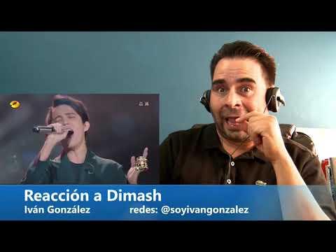 Reacción a Dimash por Iván González
