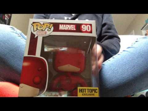 asmr daredevil pop figure