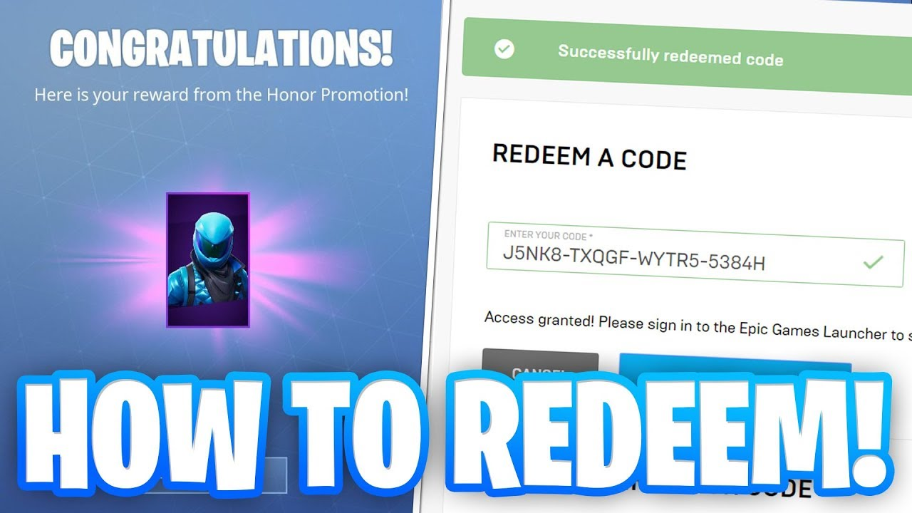 Fortnite Honor Guard Skin Free Code | Fortnite Cheat Book