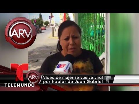 Burlas a mujer que habló de muerte de Juan Gabriel | Al Rojo Vivo | Telemundo