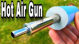 How to make a hot air gun using glow plug