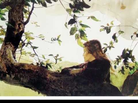 Claude Debussy - Deux Arabesque, L. 66 (Two Arabesque) with paintings by Andrew Wyeth