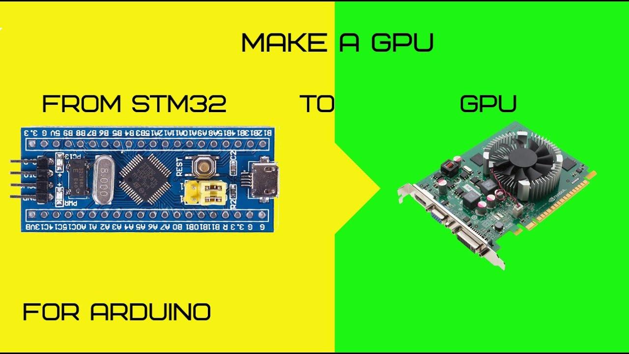 STMGPU (STM32 as 2d GPU for Arduino) - Bismuth