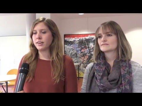 """Herman Hollerith Zentrum (HHZ) - Interview mit 2 Studentinnen zum Studiengang """"Services Computing"""""""