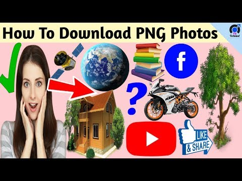 How to Download PNG photo   Download png image   in bangla 2019 [FM Technical]