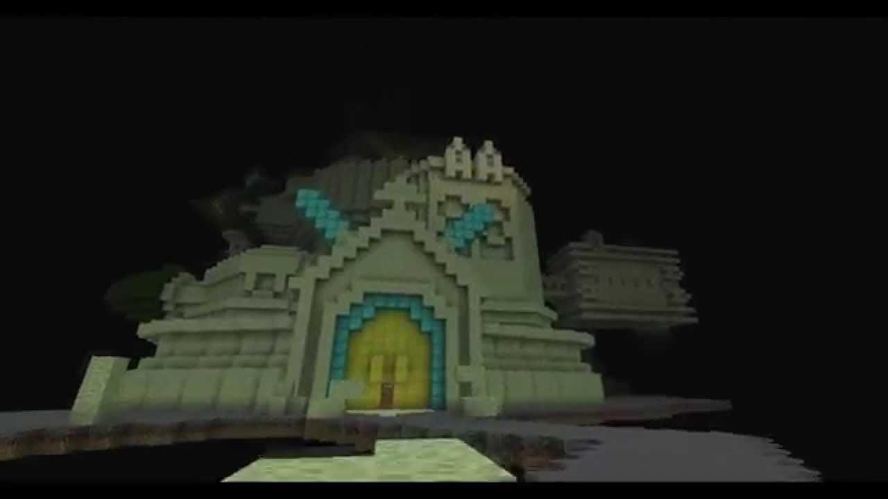 Minecraft Kingdom Hearts: Castle Oblivion Exterior Replication - YouTube