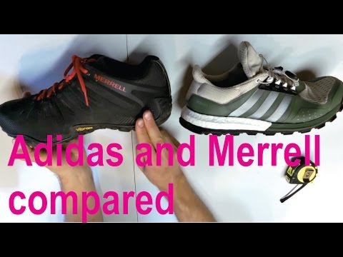 Detailed review of Adidas Adistar Raven and Merrell Chameleon II