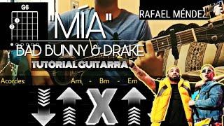 """Cómo tocar """"MIA"""" de Bad Bunny ft. Drake (Acordes y Rasgueo)"""