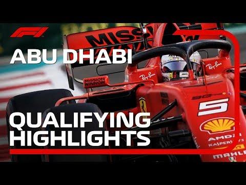 2019 Abu Dhabi Grand Prix: Qualifying Highlights