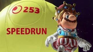 Mario Odyssey 253 Moons in 2:47:46
