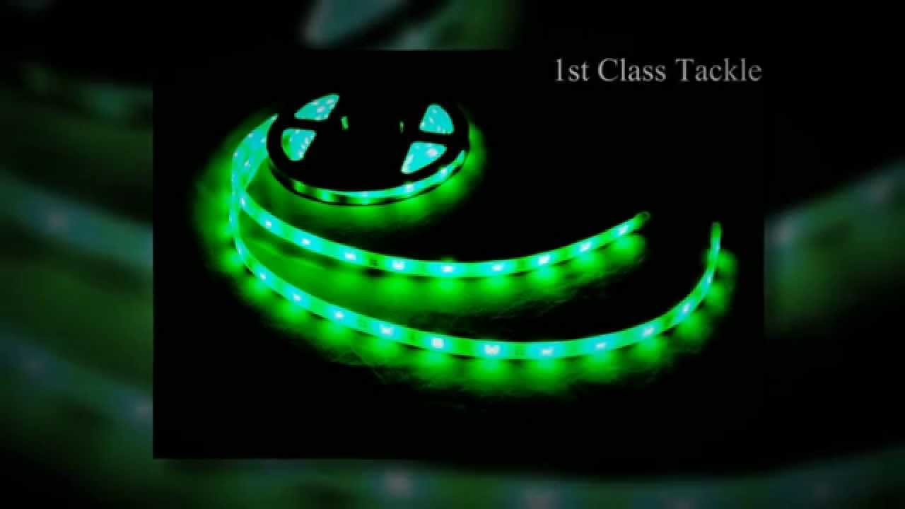 1st class tackle l.e.d. kayak fishing lights 2014 product line up, Reel Combo