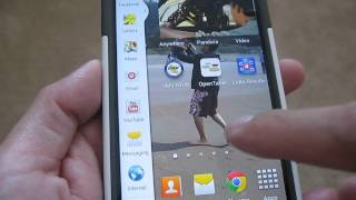 Samsung Galaxy S4 Multi-window/Multi-screen Mode (Three Screens)