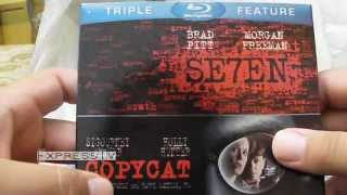 Bluray Triple Feature Unboxing: Se7en, Copycat, Taking Lives (Killer Collection)