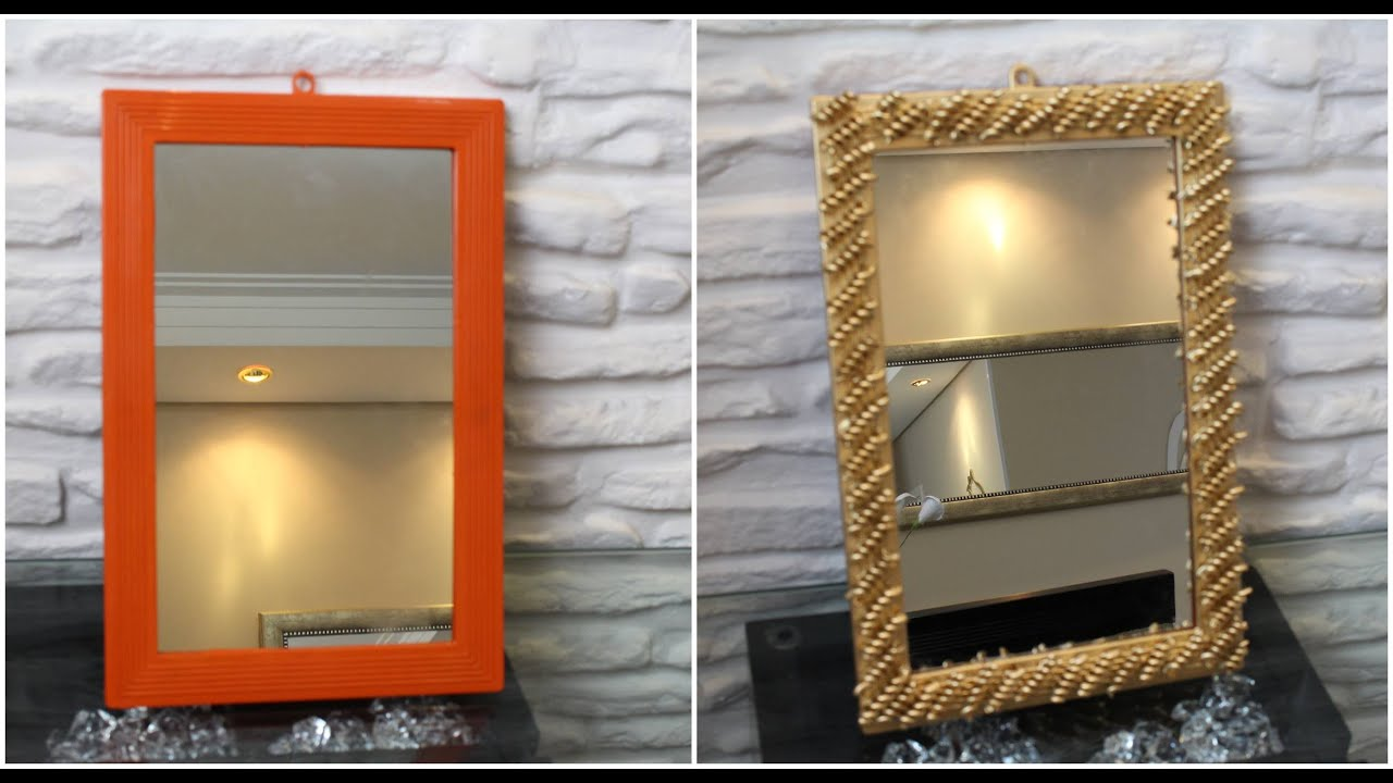DIY Como restaurar moldura de espelho   #BD3E0E 2445x1327