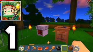 Mini World: Block Art - Survival - Gameplay Part 1 screenshot 2