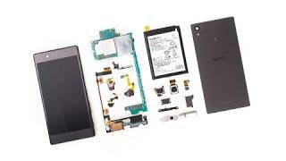 how to disassemble  Sony Xperia Z5 E6603 /  E6653 Take apart Tutorial